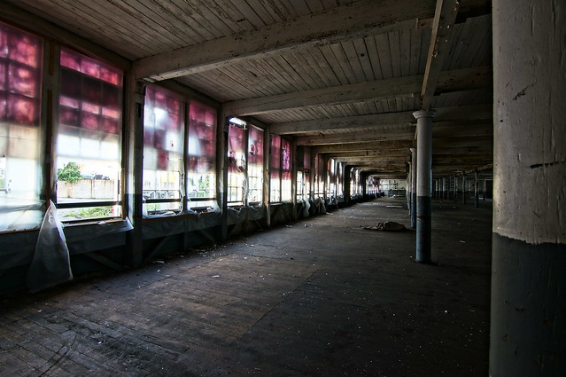 abandoned mill, kezar falls, maine