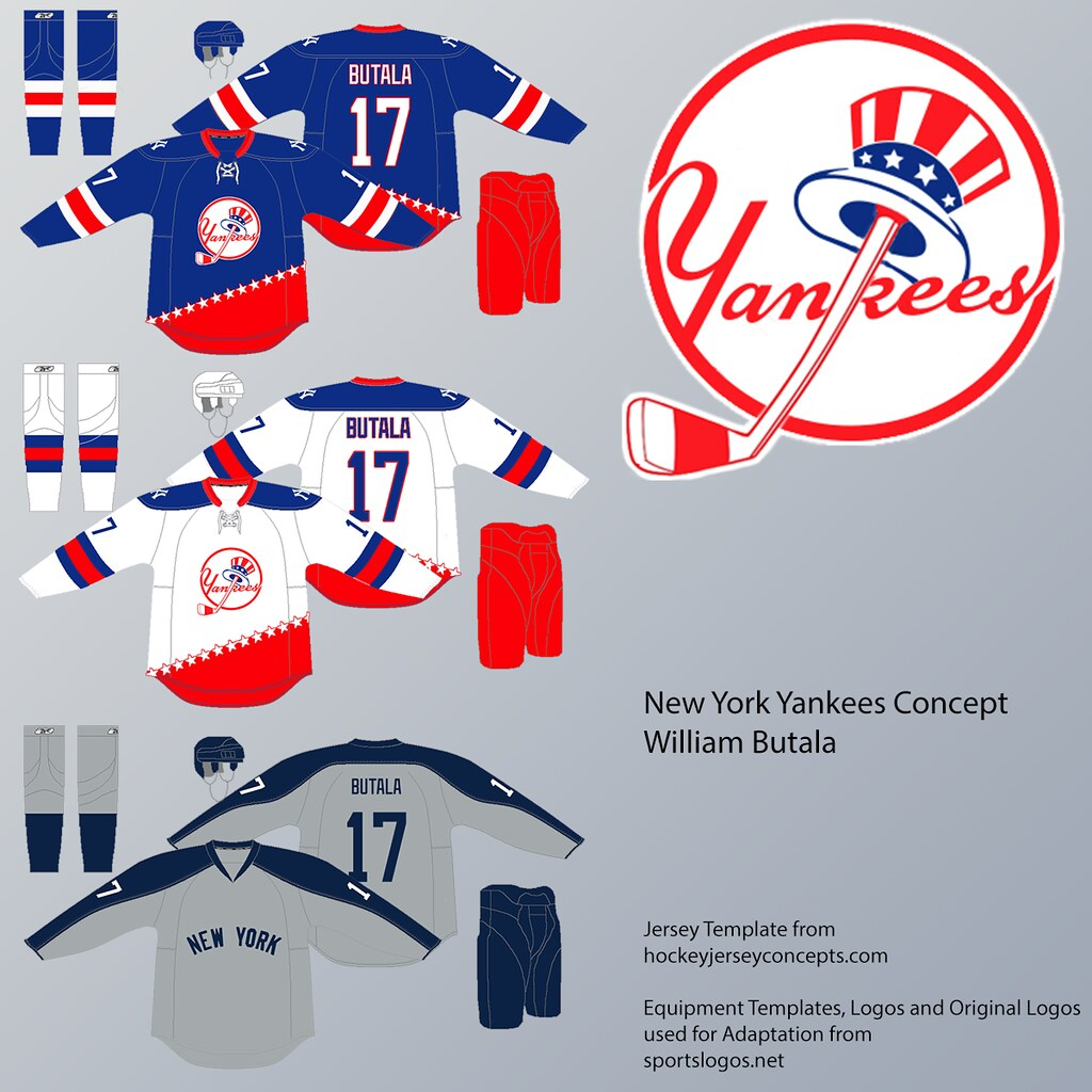 size 40 2fdcf 430e3 New York Yankees Hockey Concept | This is so far my favourit ...