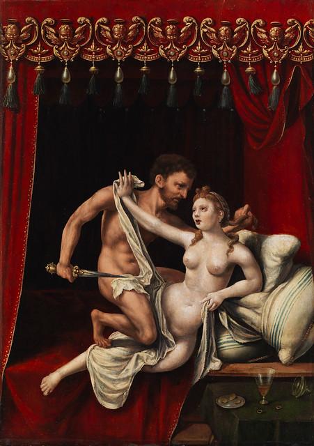 +1550 La violación de Lucrecia