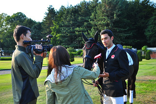 Alex interviewed at Knowsley Park courtesy of Earl & Countess of Derby for World Travellor TV Photo Karen Tang | by noblehua1