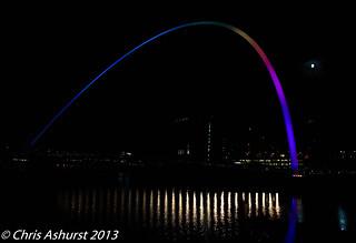 Millenium Bridge - Gateshead