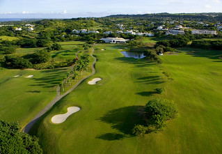 Aerial view of Royal Westmoreland golf course in Barbados (2)
