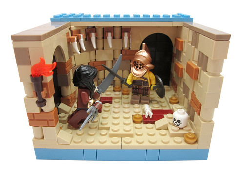 Collectible Minifig Apartment - Gladiator (Series 5)