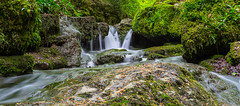 Long exposure waterfall in Solothurn