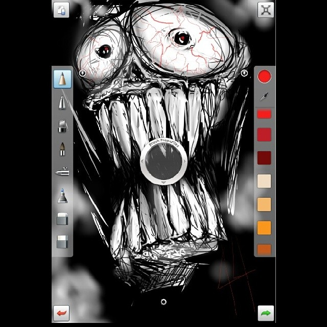 Havin fun with my tab 7 7 + Autodesk Sketchbook Pro #freak… | Flickr