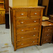 4+2 Solid pine set of drawers