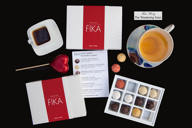 FIKA chocolates - Date Night Tasting Flight