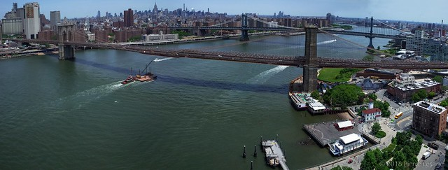 Kite Aerial Photography in New York City