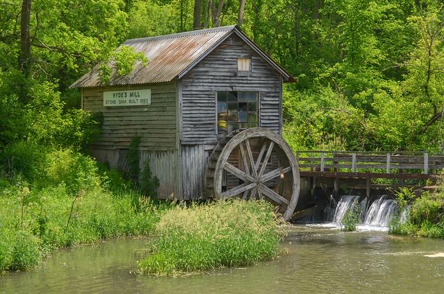 Hyde's Mill, Ridgeway, WI