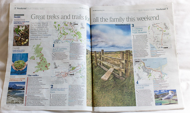 The Times Weekend Section - Bank Holiday Walks