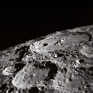 Terraced Wall Crater on the Lunar Limb | by NASA on The Commons