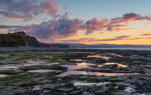 sunset england unitedkingdom somerset coastal kilve westsomersetdistrict