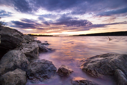 longexposure sunset summer sky sun sunlight colors beautiful clouds canon river landscape eos rocks cloudy afterstorm outdoor dusk stones serbia beautifullight sunrays danube riv greatphotographers 60d 1018mm platinumheartaward belegrade coloftul