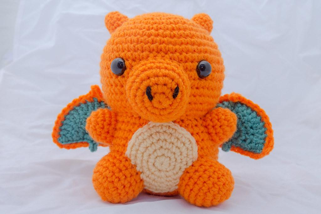 Crochet Pokemon: Charizard Pattern Review | | 683x1024