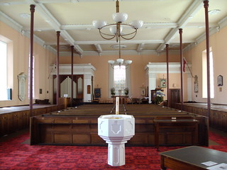 Interior of St George's Anglican church Battery Point Hobart. Opened in 1838. | by denisbin