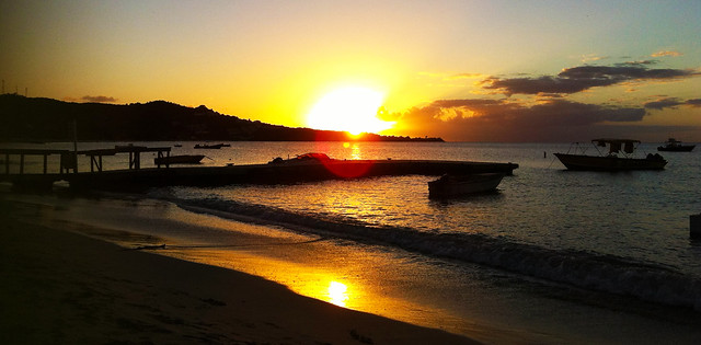 Coconut Beach Sunset (Grand Anse, Grenada)