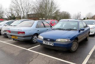 Comparison #2: Peugeot 405 GRD vs Ford Mondeo GLX | by Spottedlaurel