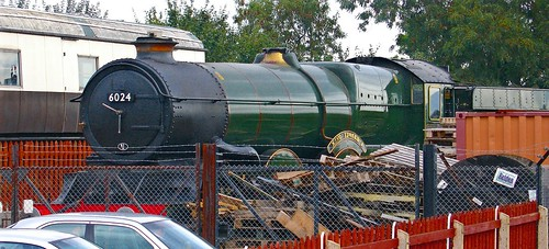 RD1231.  GWR King 6024 at Bishop's Lydeard.