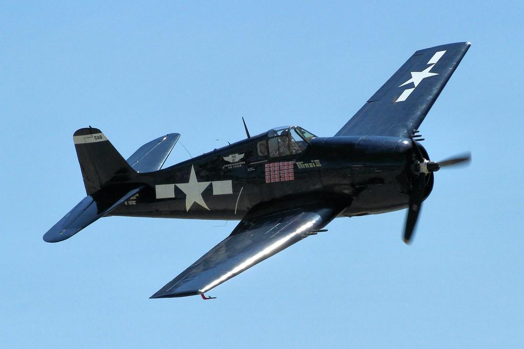 Grumman F6F Hellcat - Chino Airshow 2014