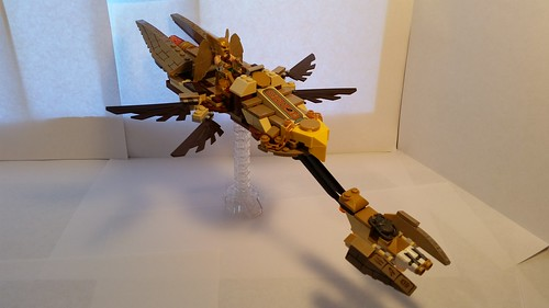Hawkman Speeder Bike with Fully Extended Wings | by Lantern-0