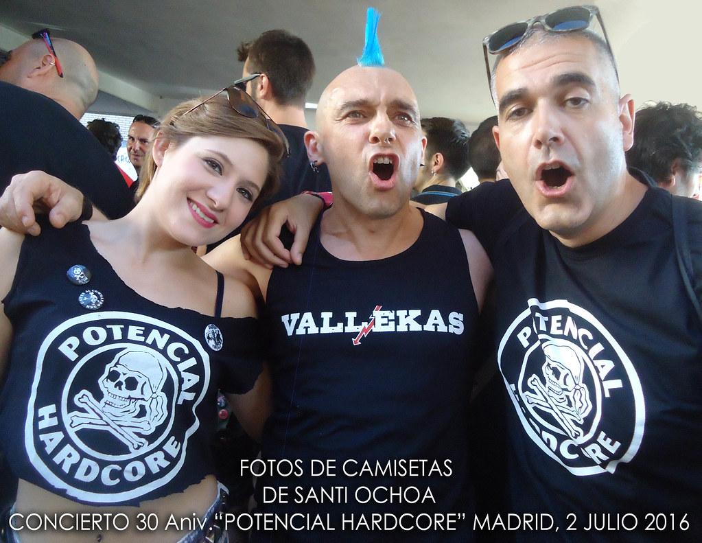 Camisetas concierto LA POLLA R