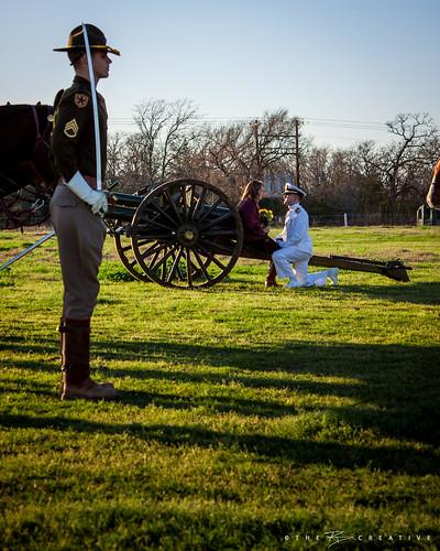 barn engagement texas unitedstates saber cannon collegestation horseback stables corpsofcadets parsonsmountedcavalry abigailelizabethbaden13 ensignphilipnicholasrobinson12usn