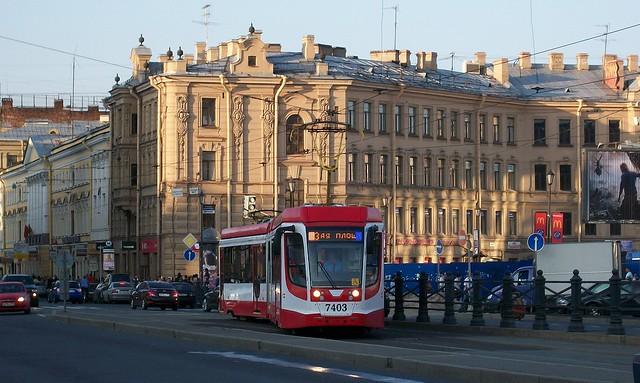 St. Petersburg Tramway Russia 2013