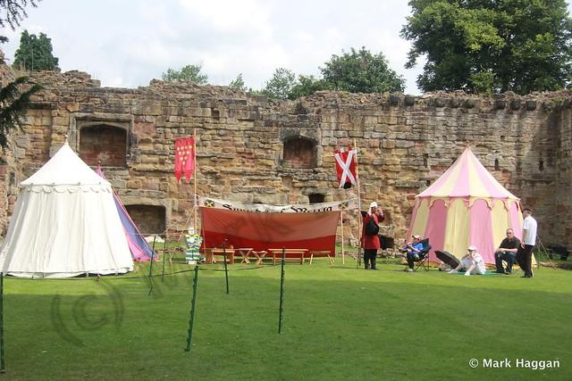 Knights at Ashby de la Zouch Castle
