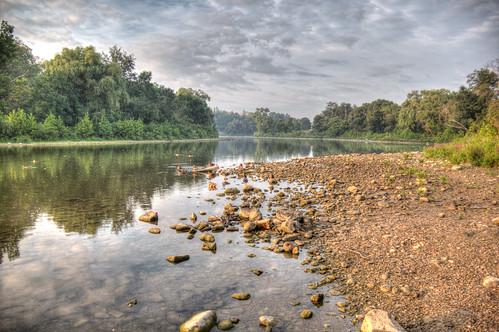 morning ontario bird london water thames sunrise canon river landscape hdr earlymorninglight 60d