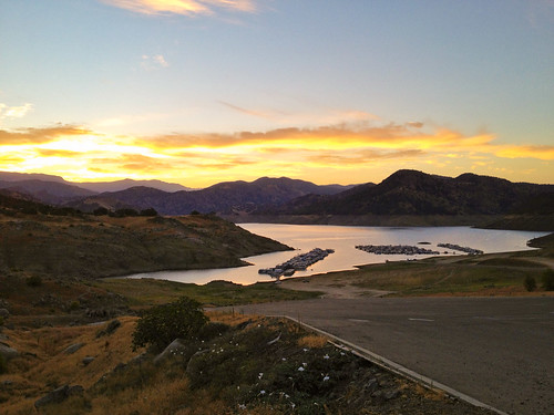 california usa sunrise fresnocounty pineflatlake