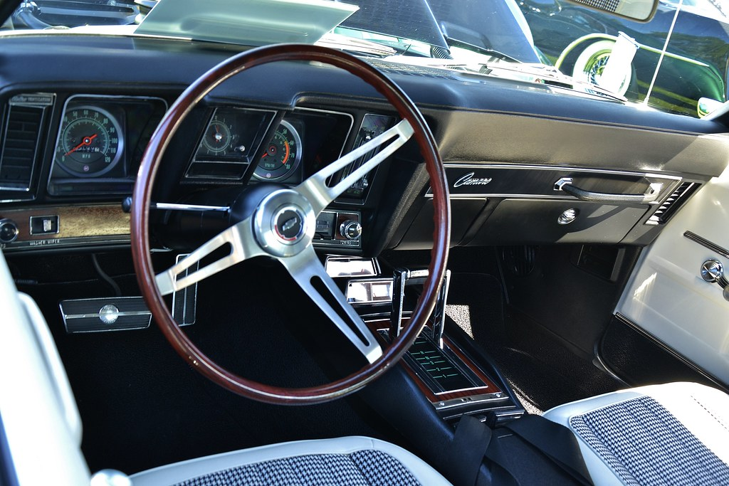 1969 Chevrolet Camaro Rs Ss Sport Coupe Interior Flickr