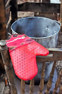 State Farm oven mitt with a turkey fryer | by State Farm