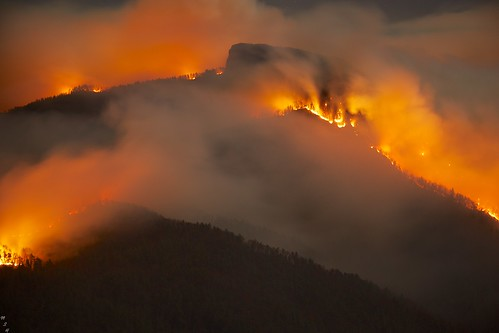 Table Rock Fire Linville Gorge 11-13-2013 8 | by MarkStevenHouser.com