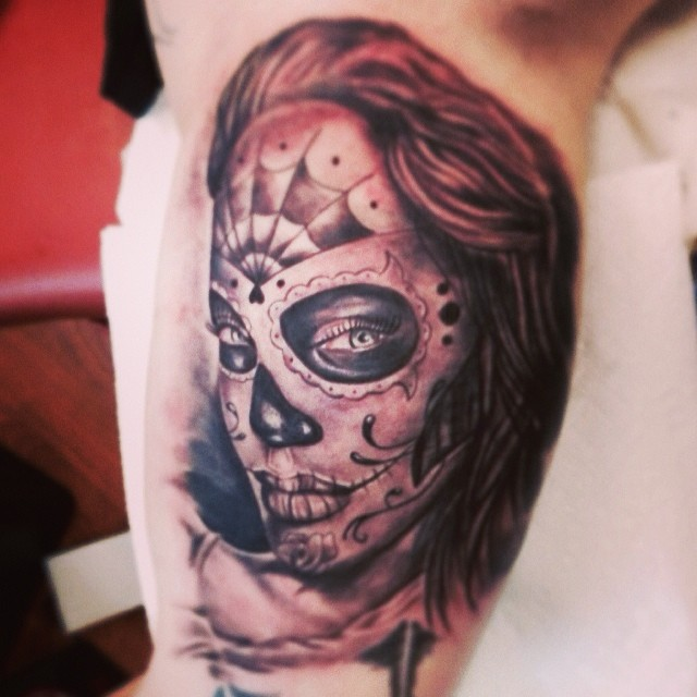 Skull Candy By Mike!!! Wicked!! #newyorkcity #tattoos #ink… | Flickr
