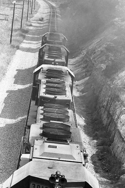 Coal Train at Johnson City, Tennessee
