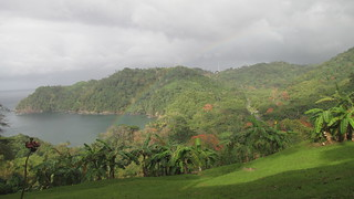 Rainbow over Englishman's Bay, Tobago | by zarfrost