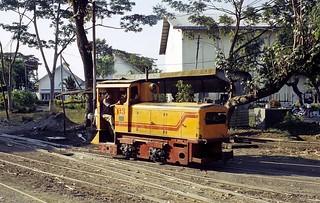 Zuckerfabrik PG Mojopanggung , Tulungagung (Java, Indonesien), Juni 2003