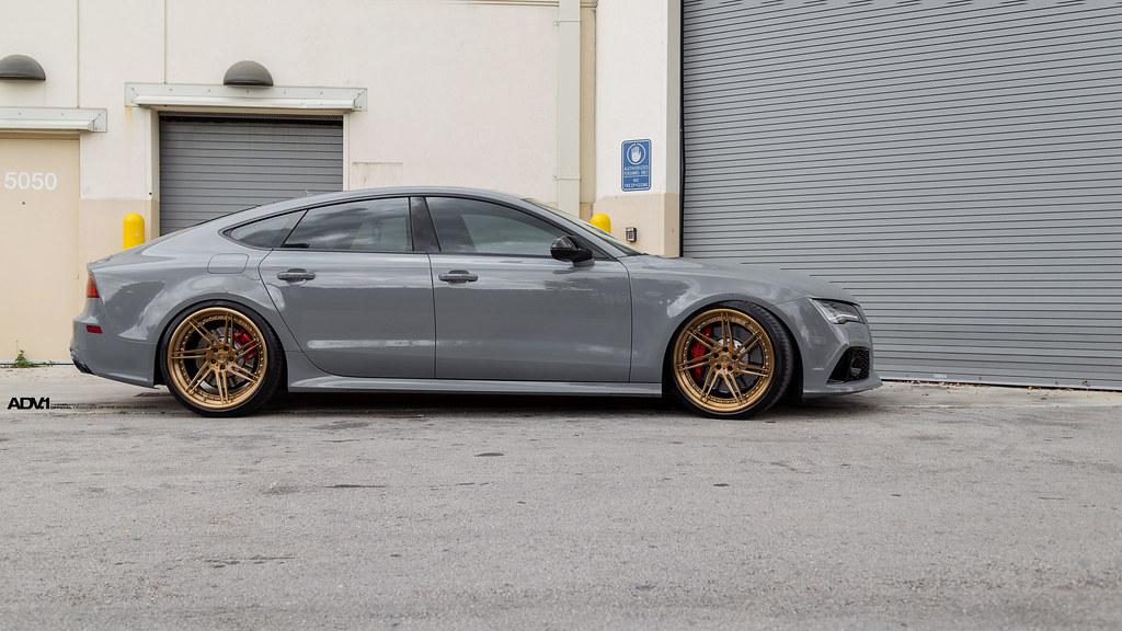 Nardo Grey Audi Rs7 Adv07r Track Spec Cs Wheels Wheels Flickr