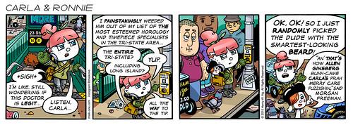 Carla and Ronnie Comic Strip #2, 5/2013