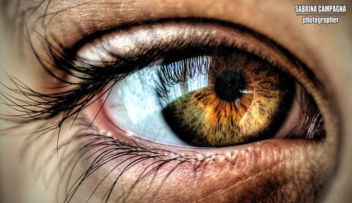 Eye Close-Up - HDR | by Sabrina Campagna Live Music Photographer