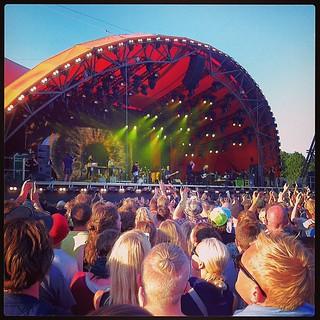 The National #orangefeeling #rf13 #lørdag | by Simon Fredslund