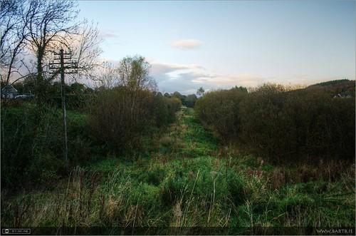 ireland history evening dusk rail cavan pathway localhistory photomatix tonemapped topazadjust