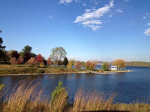 park lake fall state views vista claytor