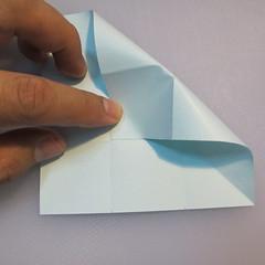 การพับกระดาษรูปดาวกระจาย (Star Origami – スターの折り紙) 003