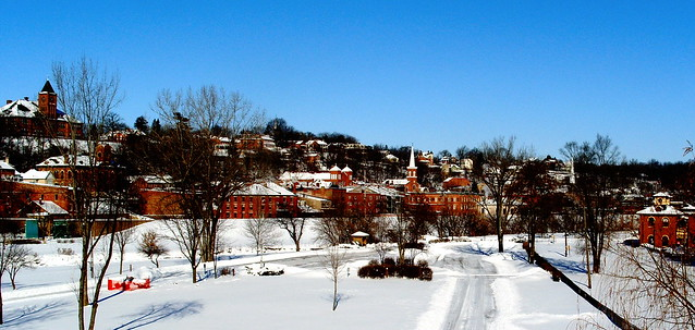 Winter in Galena