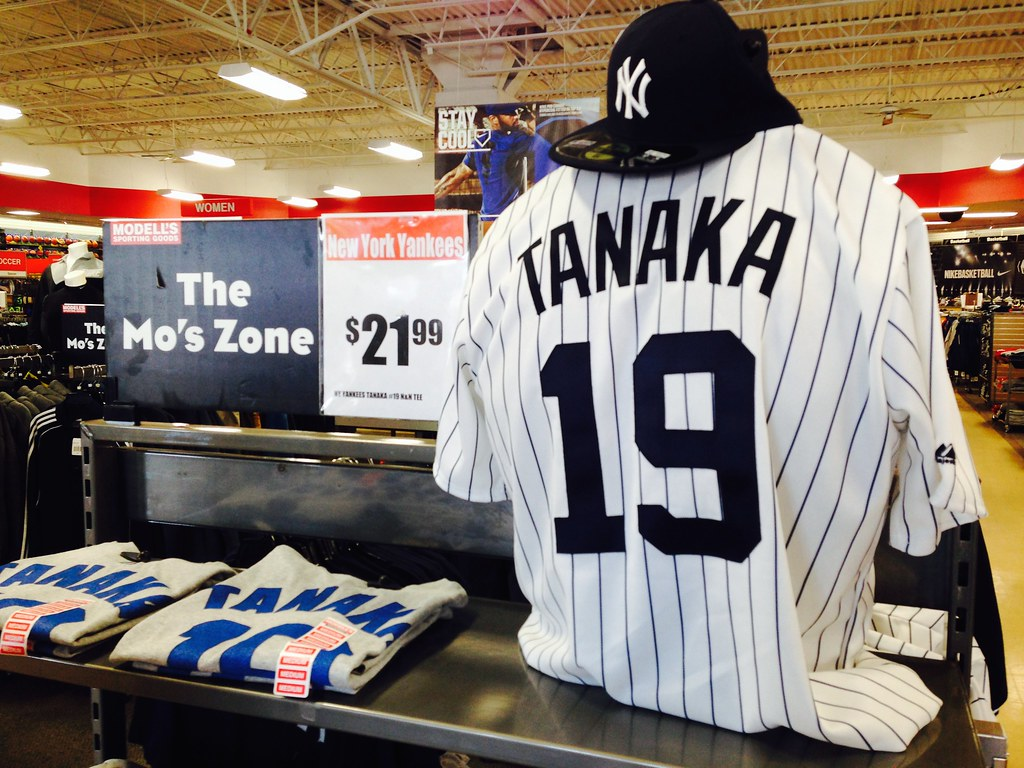 differently f9279 2ede1 New York Yankees Masahiro Tanaka Name & Number T-Shirt | Flickr