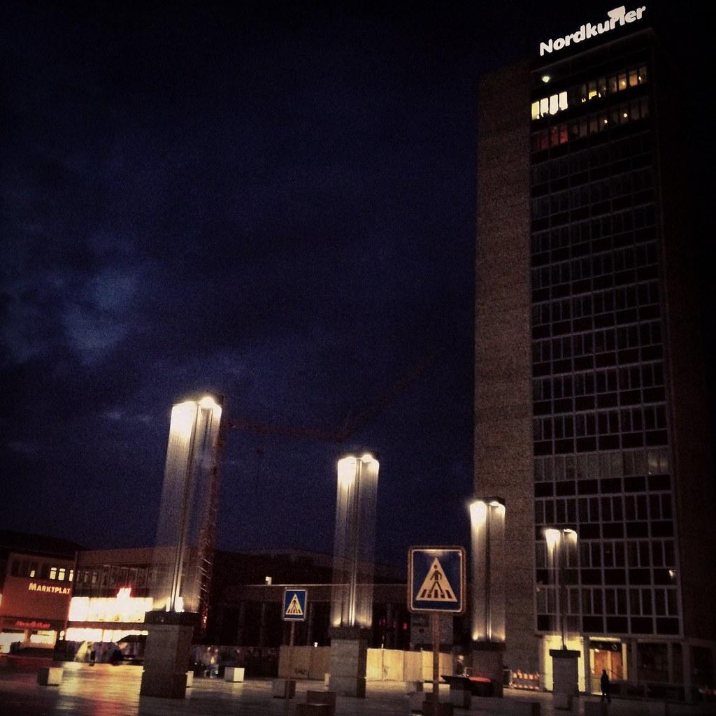 HKB-Tower in the dark