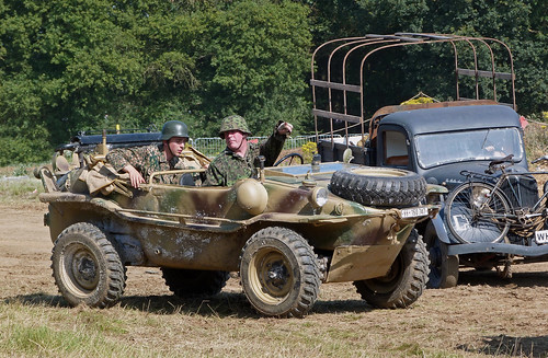 Schwimmwagen amphibious German Car