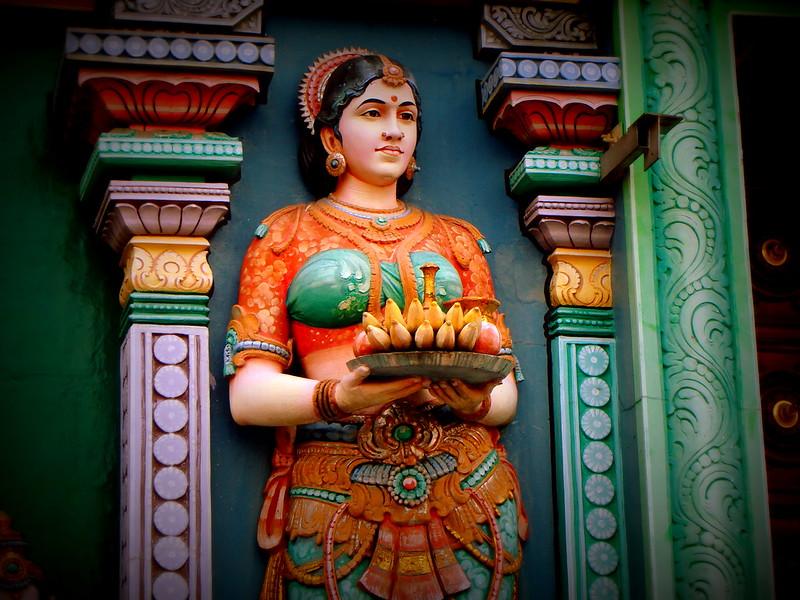 Lakshmi goddess Hindu temple Singapore