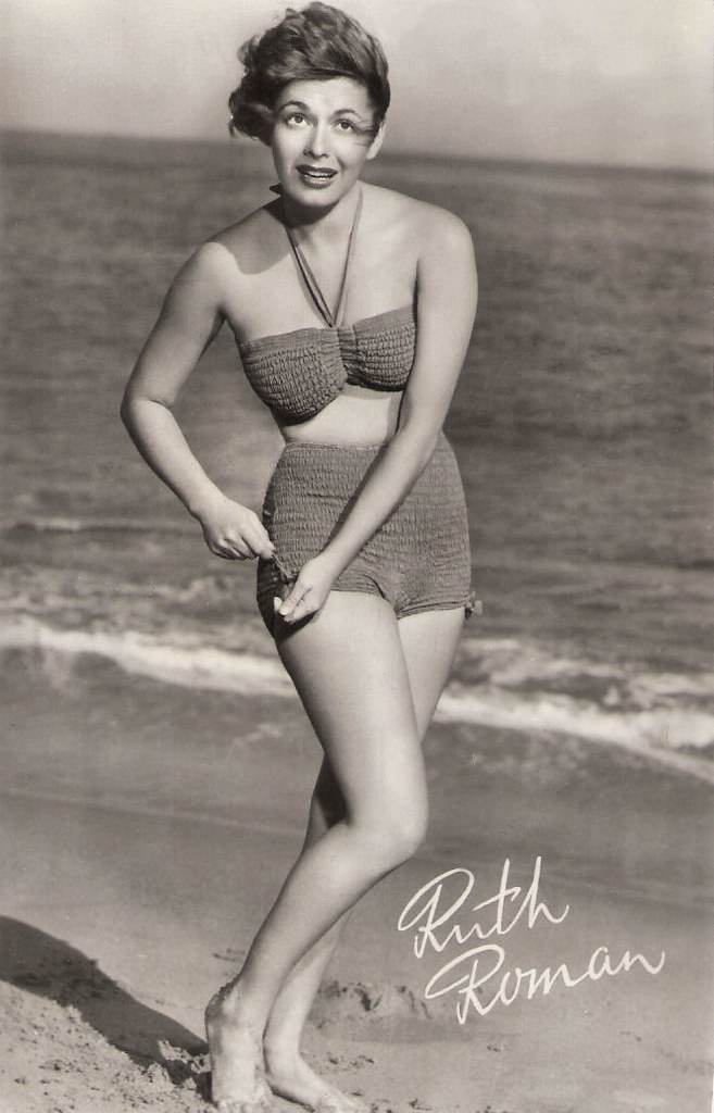 Ruth Roman bathing suit